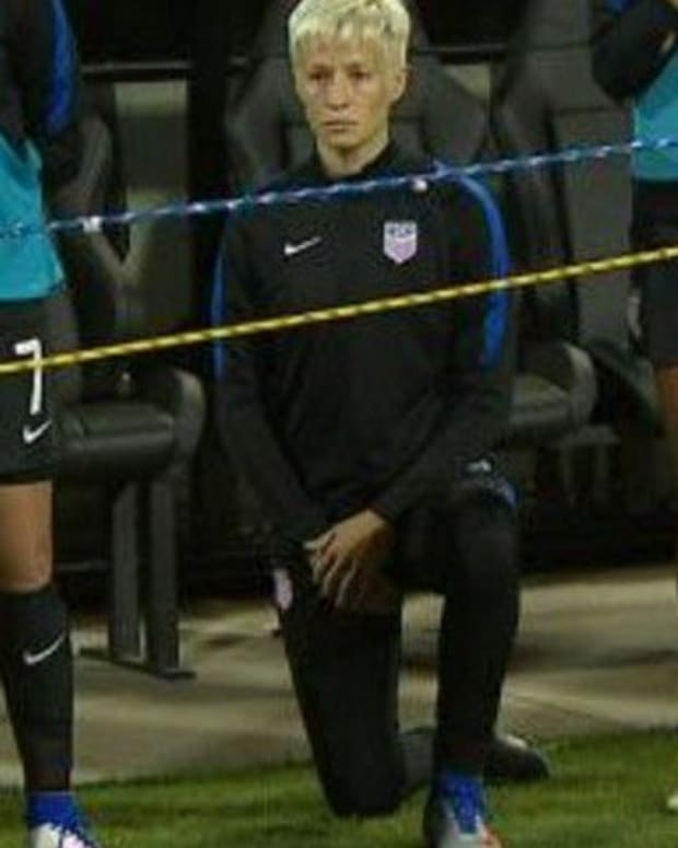 U.S. Soccer: We Expect Players To Stand For The Anthem Promo Image