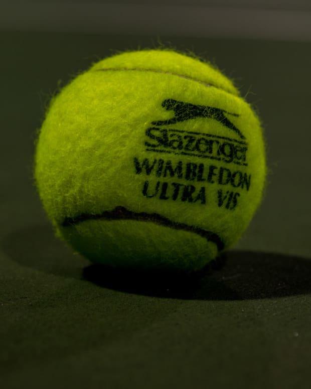 Loud Sex Interrupts Tennis Match (Video) Promo Image