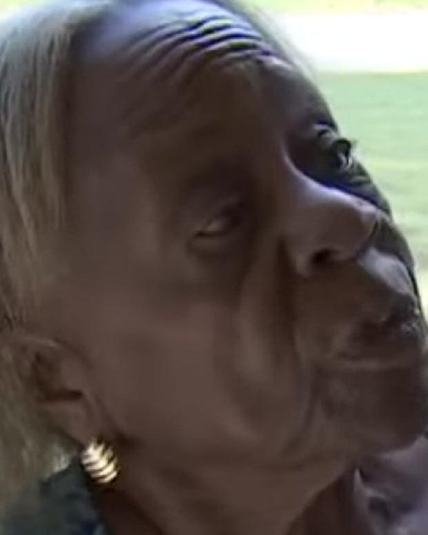 Police Pepper Spray Elderly Woman Promo Image