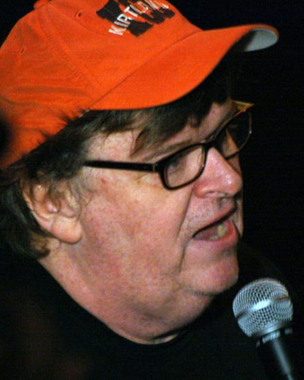 Michael Moore Defends Trump Voters Promo Image