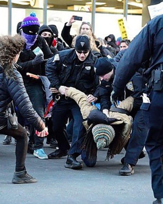 Police: Anti-Trump Protesters Blocked Ambulance (Video) Promo Image
