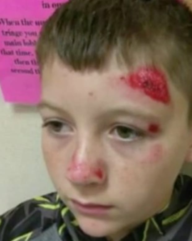 Middle Schooler Shoved Face-First Into Pavement Promo Image