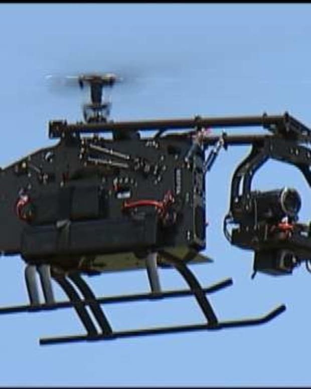 Oklahoma Bill Lets Property Owners Shoot Down Drones Promo Image