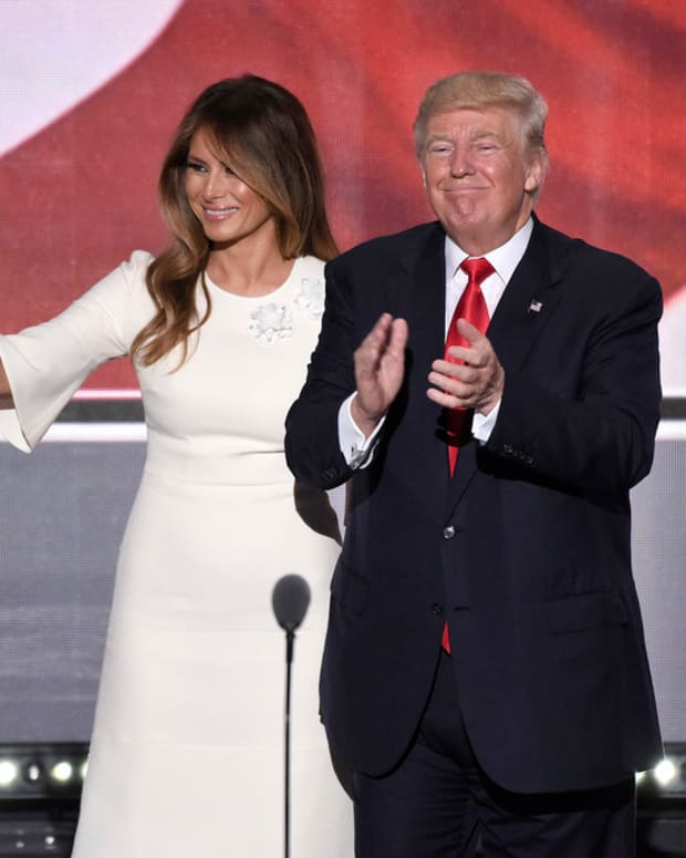 Internet Users: Is Melania Happy With Donald Trump?  (Photos) Promo Image