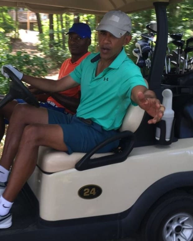 Golf Club May Reject Obama Over Latest Stance On Israel Promo Image