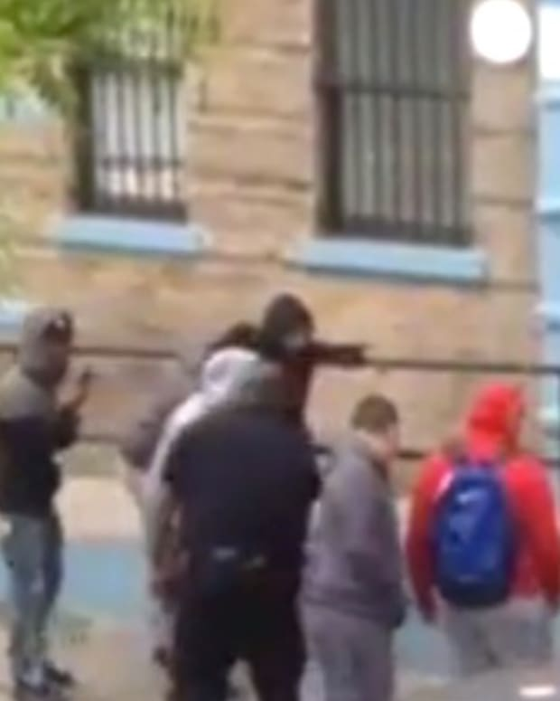 NYPD Cop Accused Of Rolling Dice On Suspect's Fate (Video) Promo Image