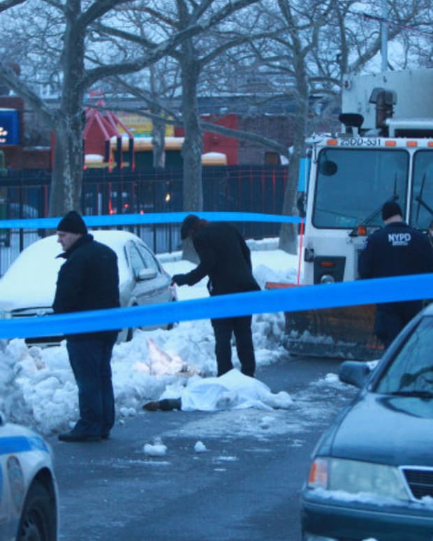 Snow Plow Discovers Dead Body After New York Blizzard Promo Image