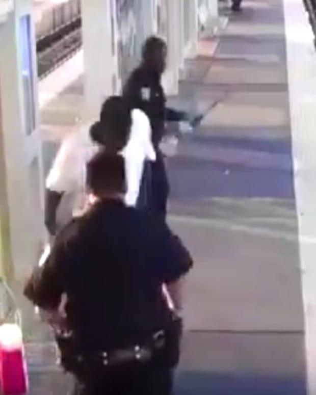 Houston Officer Is Filmed Beating Man, Resigns (Video) Promo Image