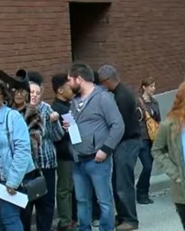 Voters Suffer Through Hours-Long Early Voting Lines Promo Image