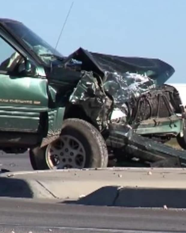 Tow Truck Driver Takes Wreck To Wrecking Yard After Brutal Accident, Suddenly Hears A Scream Promo Image