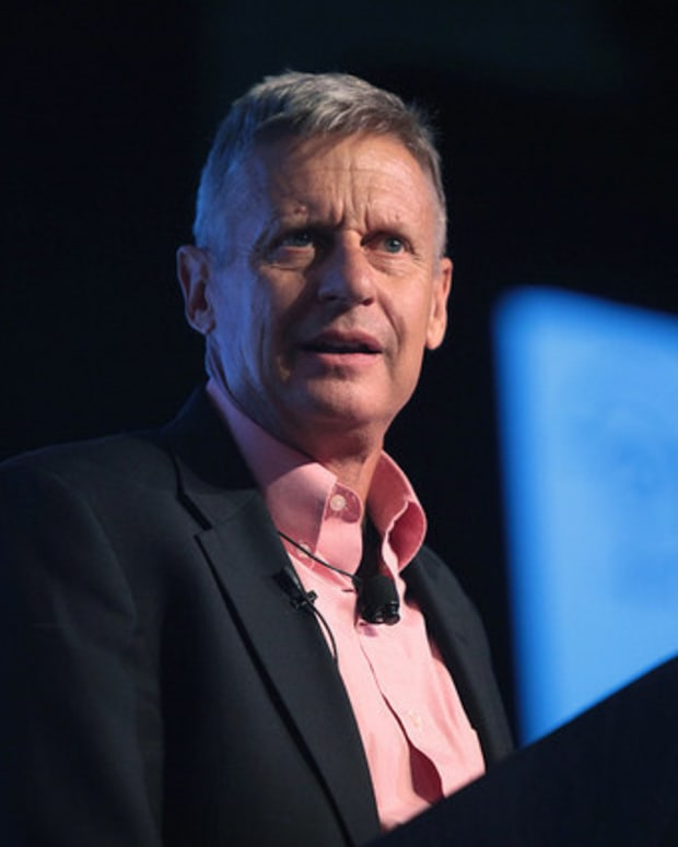 Gary Johnson: Romney May Endorse Libertarian Ticket Promo Image