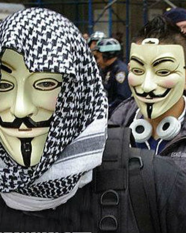 Hacker Group Anonymous Warns Of World War 3 (Video) Promo Image