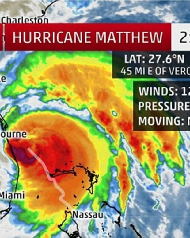Hurricane Matthew Heading Toward Nuclear Power Stations Promo Image