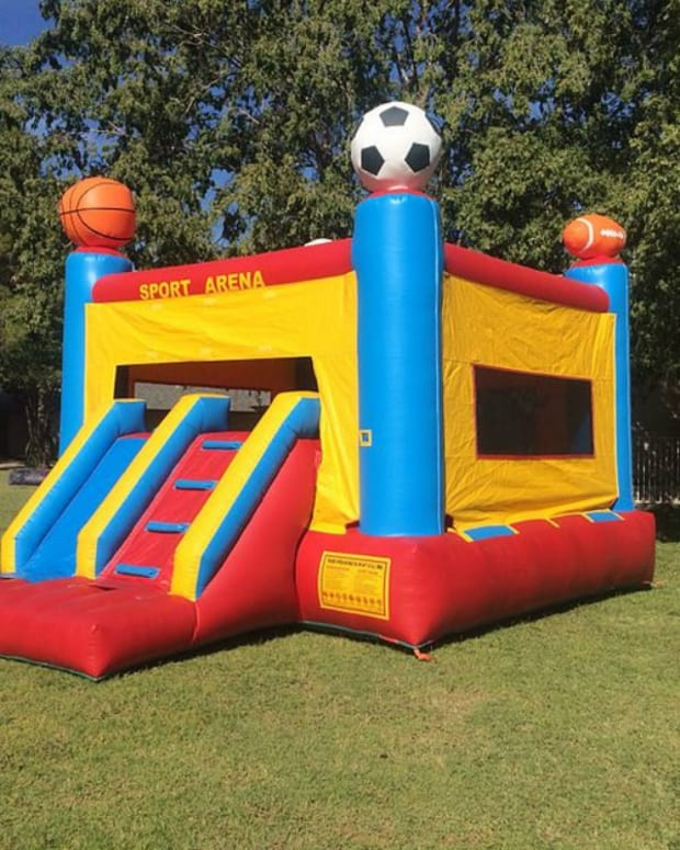 Man Unplugs Bounce House, Injuring Kids (Video) Promo Image