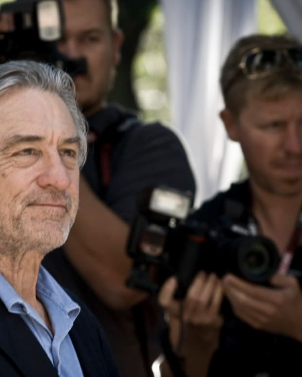 De Niro 'Upset' Over Trump, Invited To Move To Italy Promo Image