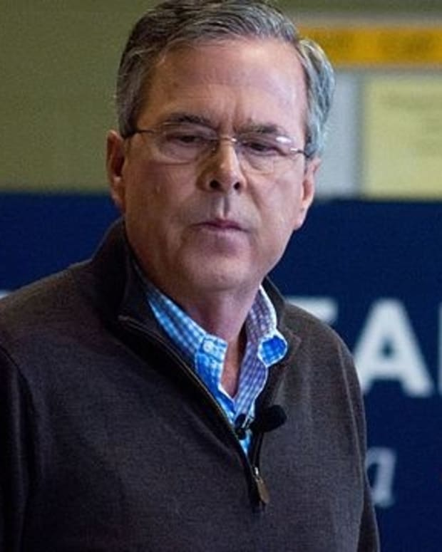 """Jeb Bush To Trump: Don't Say """"Things That Aren't True"""" Promo Image"""