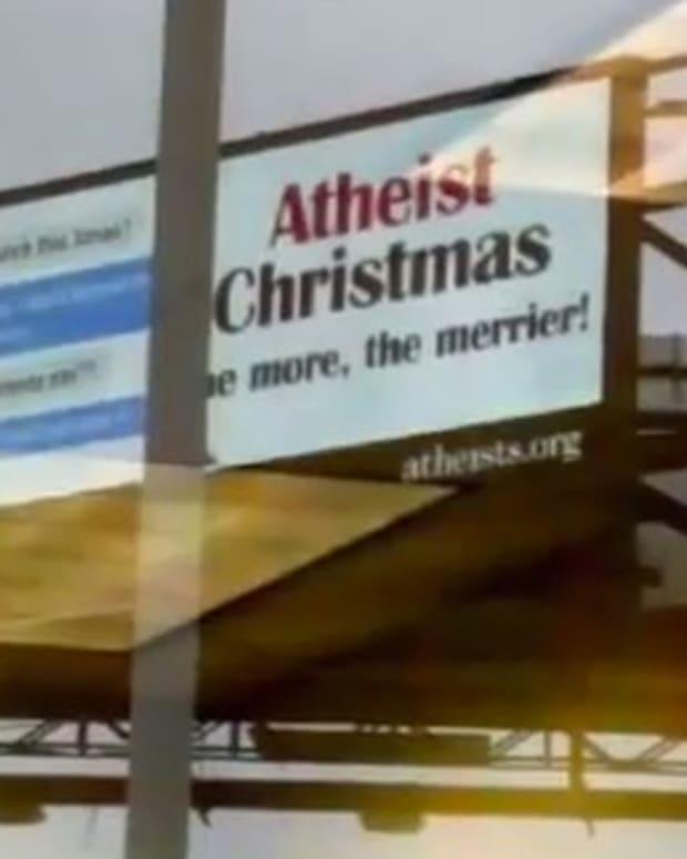 Christians Censor Atheist Billboards In Louisiana (Video) Promo Image