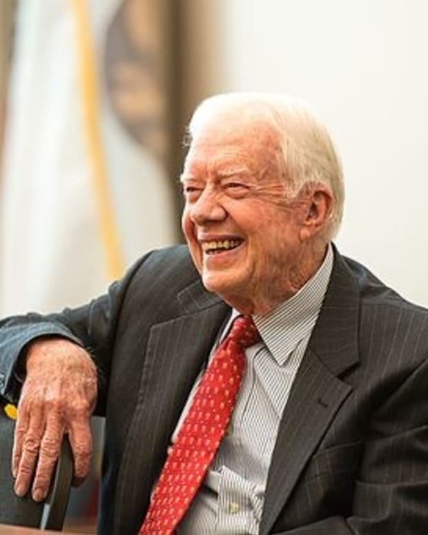 Jimmy Carter Voted For Bernie Sanders Promo Image