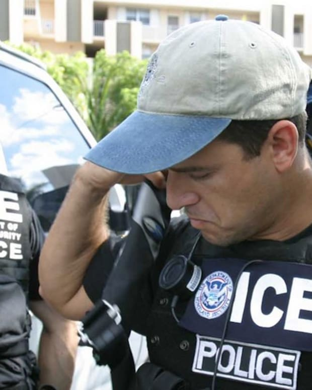 Report: ICE Removes Immigrant With Tumor From Hospital Promo Image