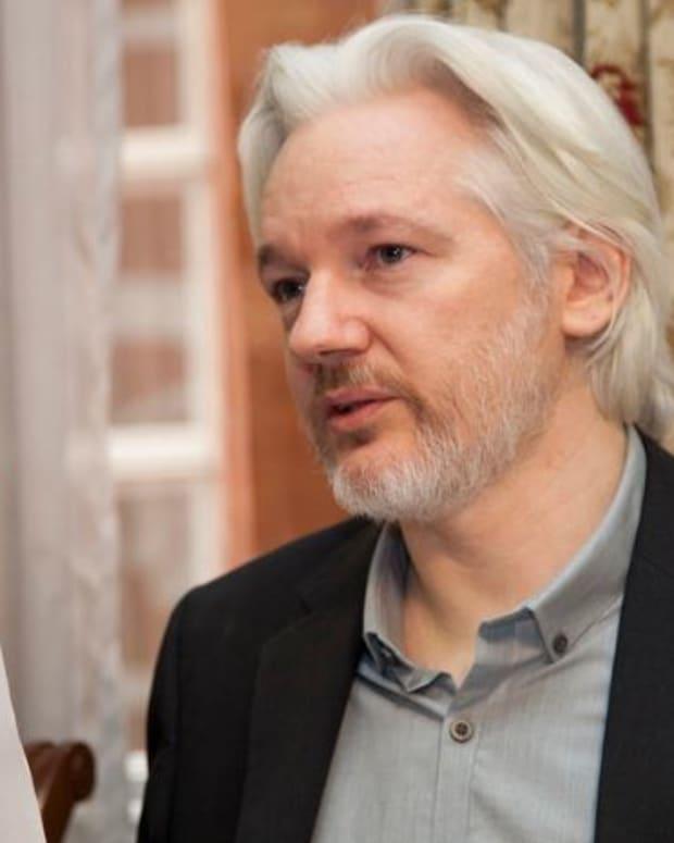 Julian Assange To Clinton: 'Blame Yourself'  Promo Image