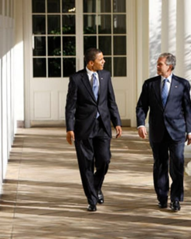 Poll: Bush And Obama Becoming More Popular Promo Image