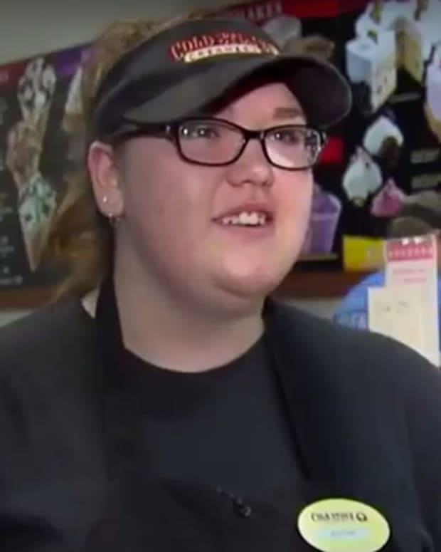 Customer Bullies Ice Cream Employee About Her Weight (Video) Promo Image