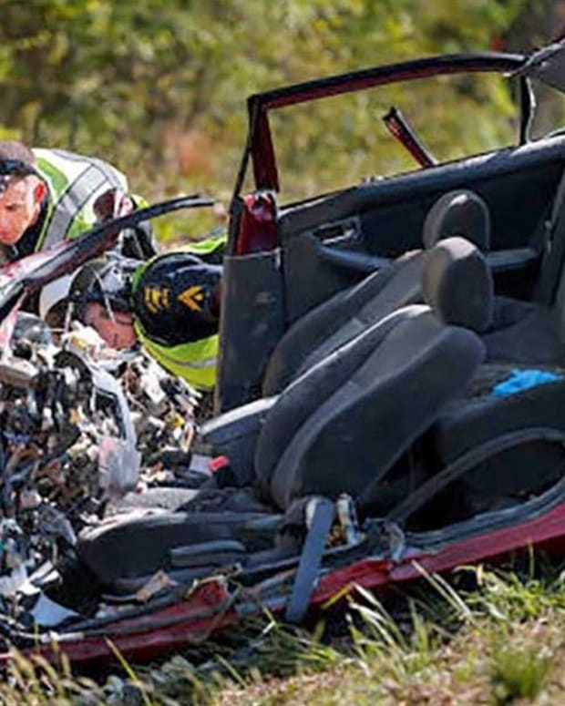 Heartbreaking Facebook Post Causes Car Crash (Photos) Promo Image