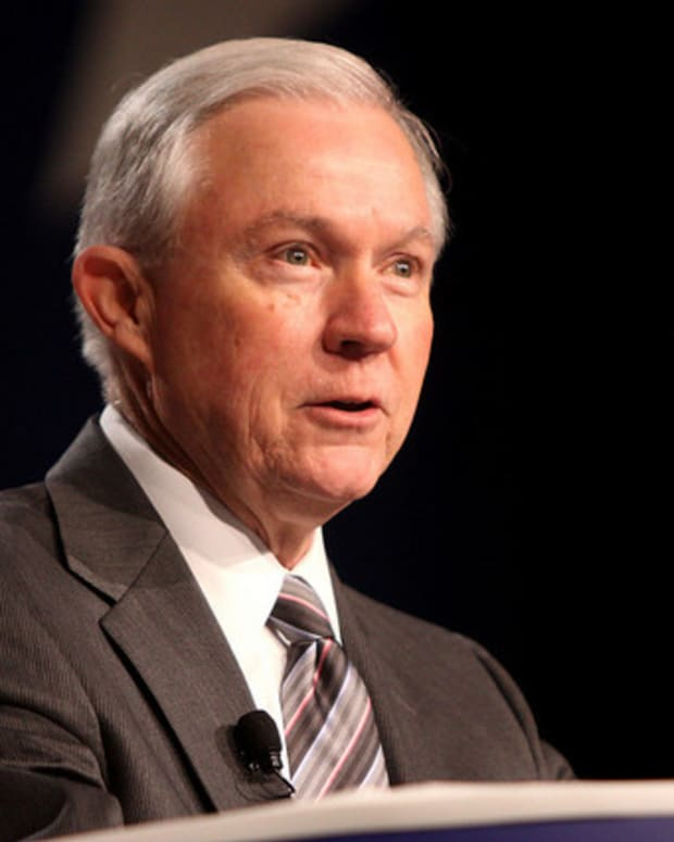 Sessions On Immigration: 'This Is The Trump Era' Promo Image