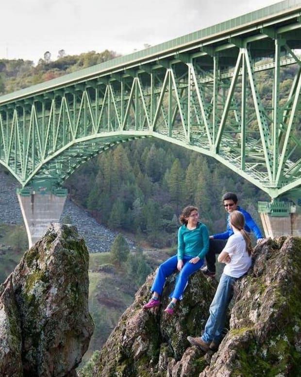 Thrill Trespasser Falls Off California's Highest Bridge (Photo) Promo Image