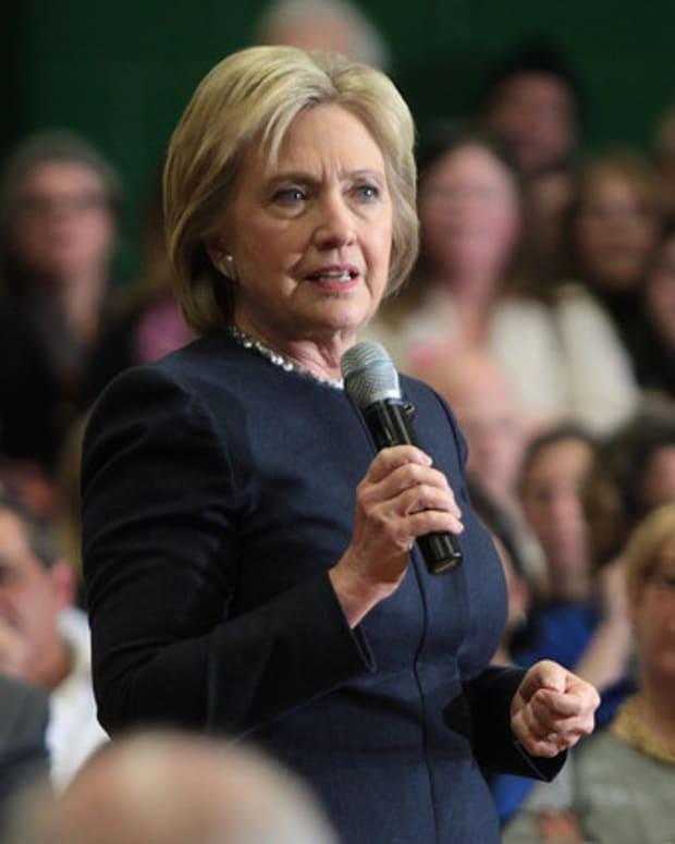 Hillary Clinton Compares Trump To Nixon (Video) Promo Image