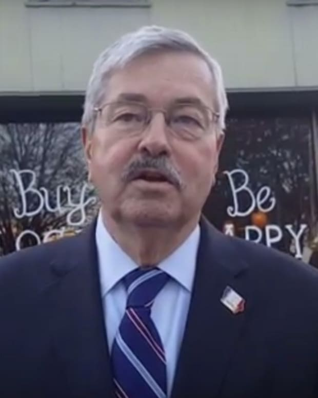 Iowa Governor: Take Atheist Kids To Church (Video) Promo Image