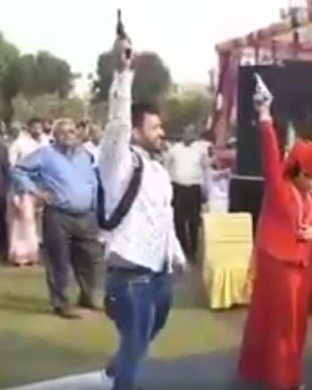Celebratory Gunfire At Wedding Wounds Three, Kills One (Video) Promo Image