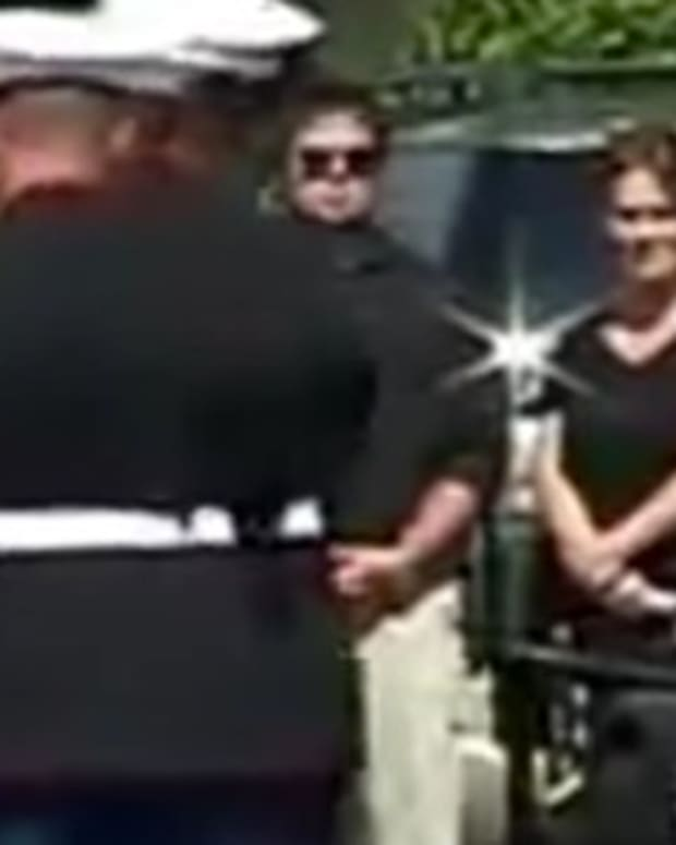 Westboro Baptist Church Tries To Protest Marine's Funeral, Gets Greeted By Unexpected Guests (Video) Promo Image