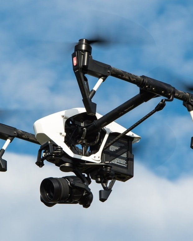 Air Force Asks For Authority To Shoot Consumer Drones Promo Image