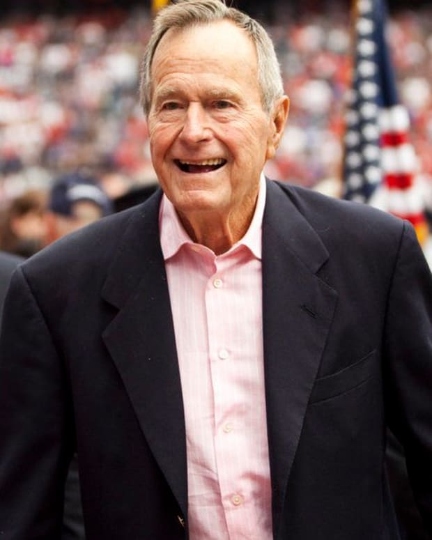 Woman Says George H.W. Bush Groped Her When She Was 16 (Photos) Promo Image