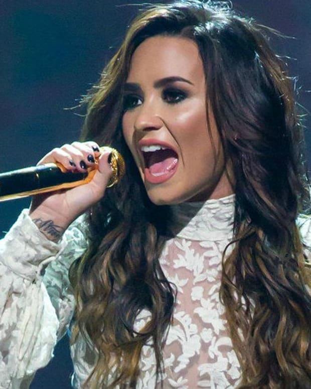 Demi Lovato Blasts Time For Including Trump  Promo Image