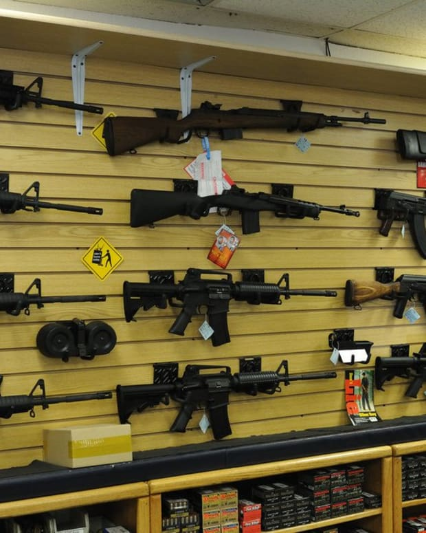 Poll: Majority Of Americans Support Stricter Gun Laws Promo Image
