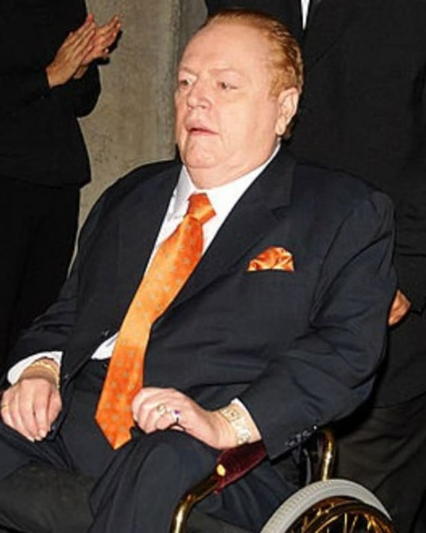 Larry Flynt Offers $10 Million To Impeach Trump Promo Image