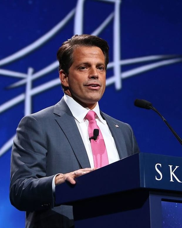 Scaramucci Threatens White House Leakers Promo Image