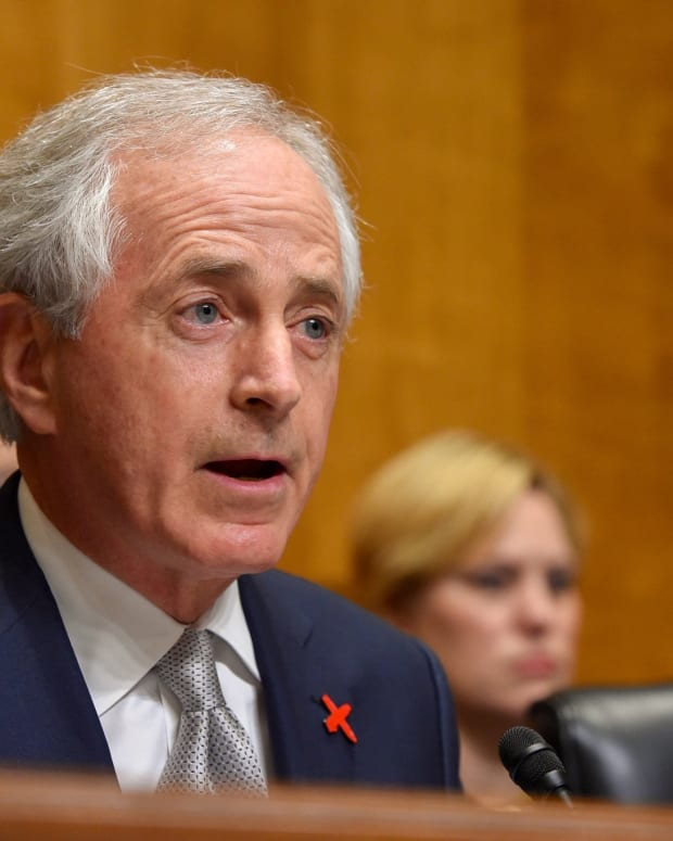 Corker On Trump Lying: 'Everyone Knows He Does It' Promo Image