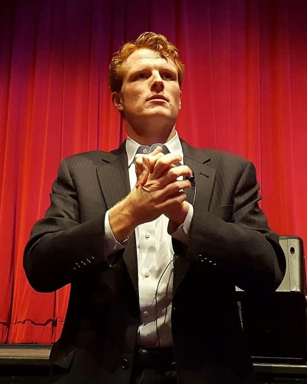 Joe Kennedy's Drool Mouth Goes Viral Promo Image