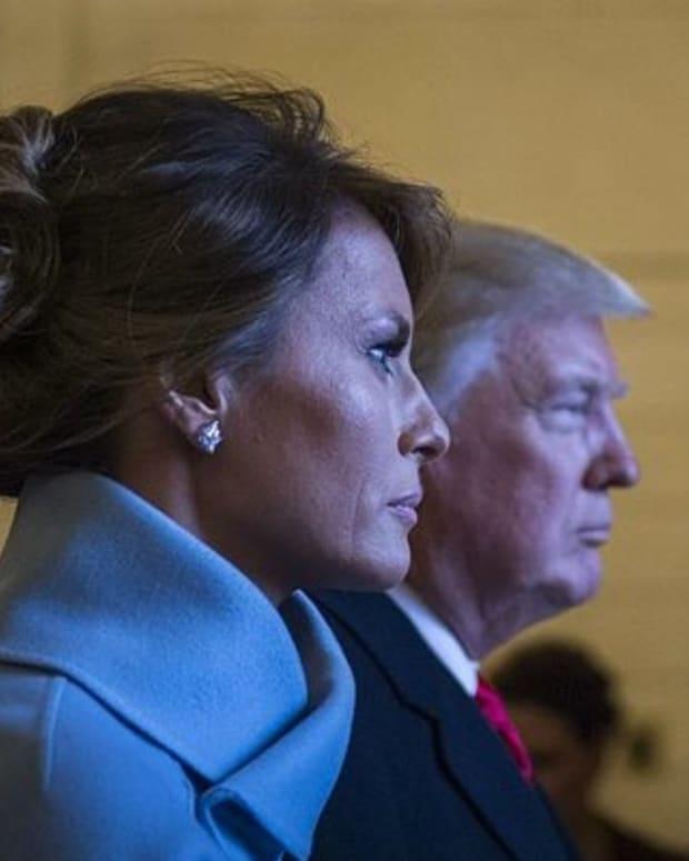 Melania Trump Lashes Out At 'Salacious' Article (Photos) Promo Image