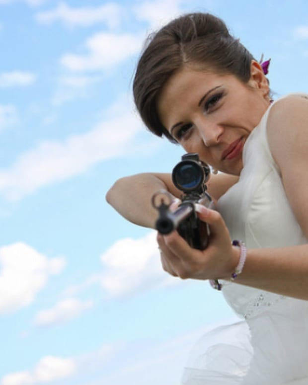 Bride Tries To Shoot New Husband (Photo) Promo Image