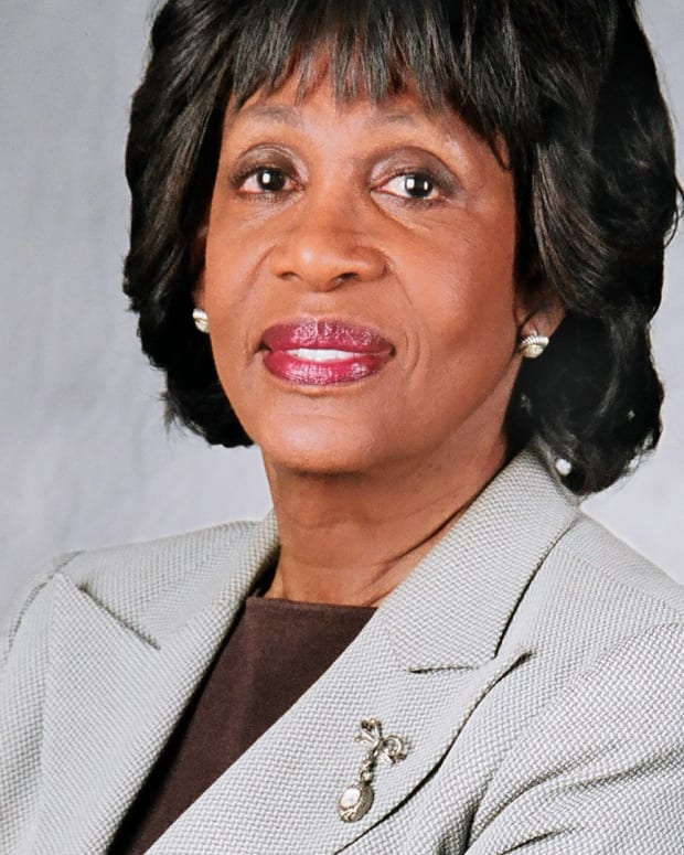 Maxine Waters Calls White House 'White Supremacist House' Promo Image
