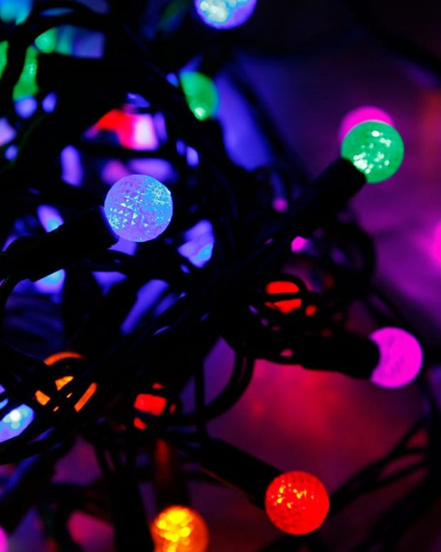 Man Fined For Covering Car With Christmas Lights (Photo) Promo Image
