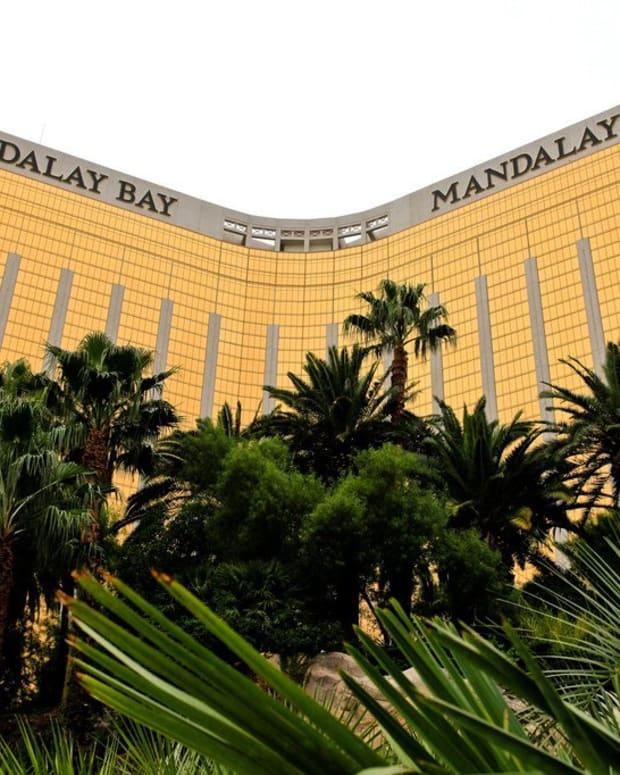Security Guard Injured In Las Vegas Shooting Promo Image