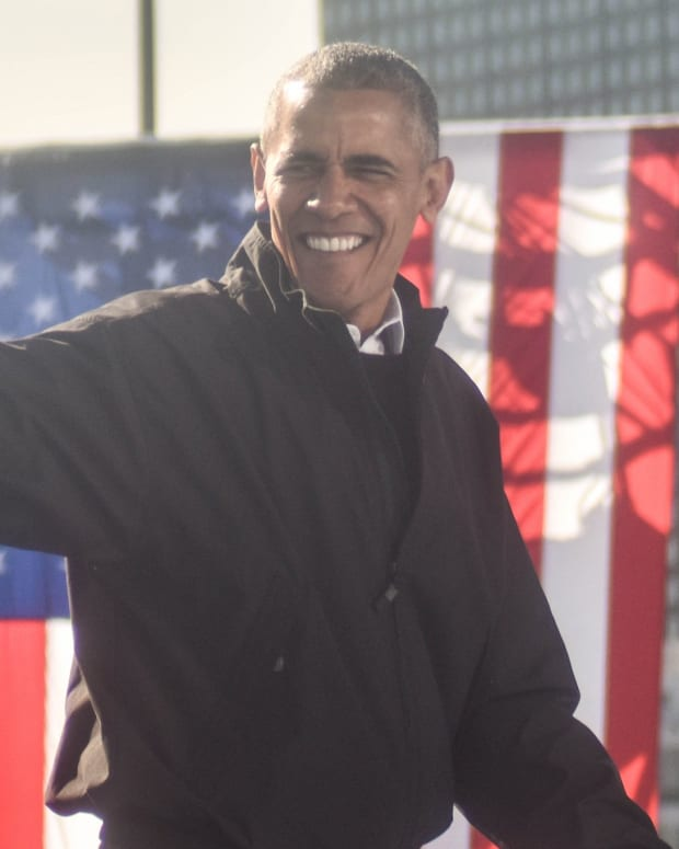 Poll: Barack Obama Is America's 'Most Admired Man' Promo Image