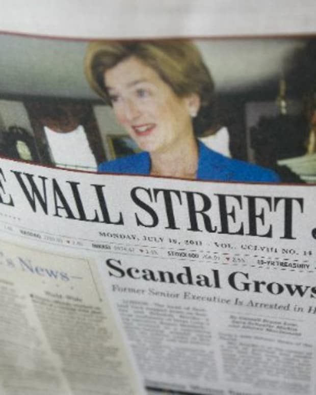 WSJ issuing bribes in China?