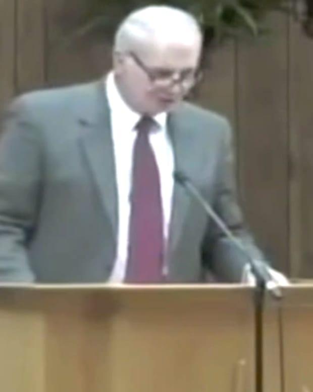 Pastor Charles Lawson.