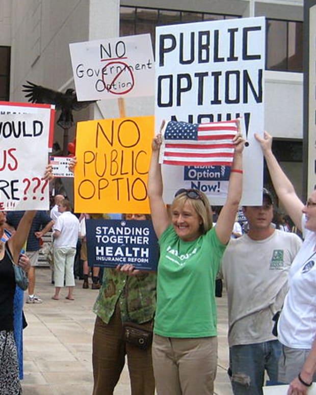 Obamacare Protests.
